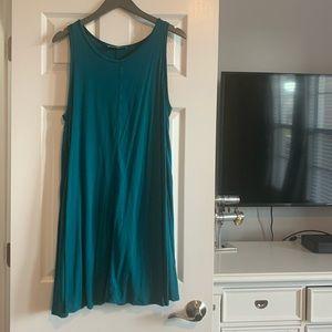 Loft Large Teal dress